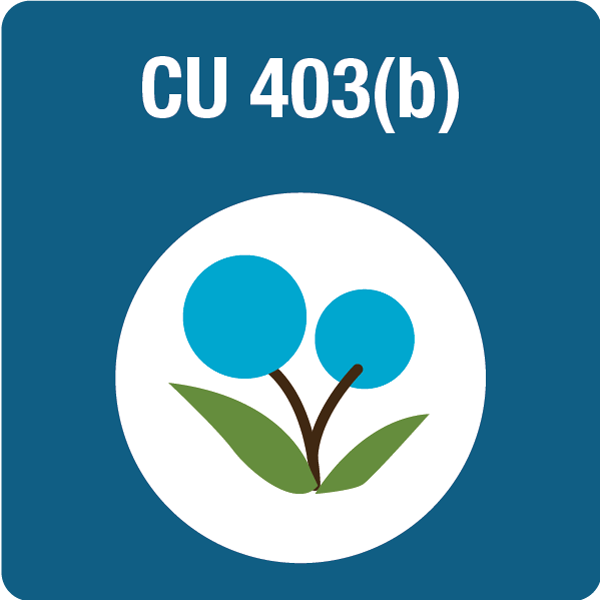 CU 403(b) Voluntary Retirement Plan