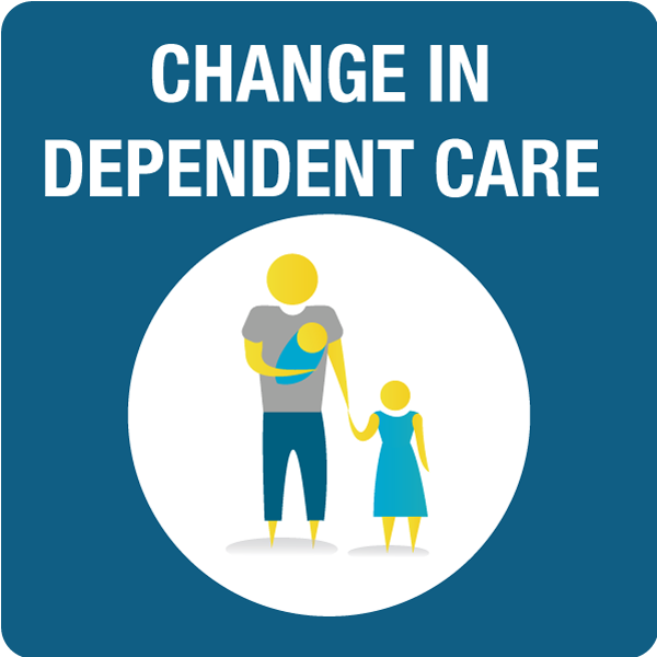 Change in Child or Depdendent Care Needs