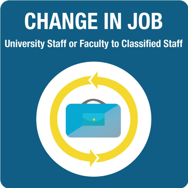 Faculty or Staff to Classified Staff