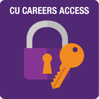 CU Careers Access - click for instructions on gaining CU Careers Access