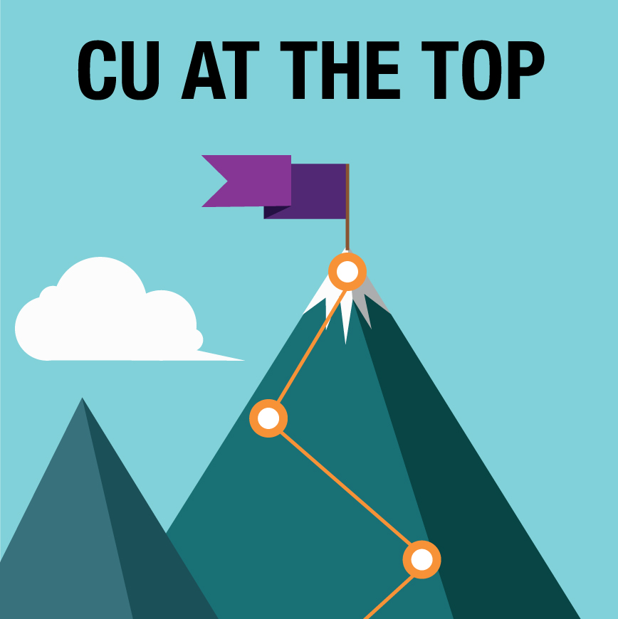 CU at the top