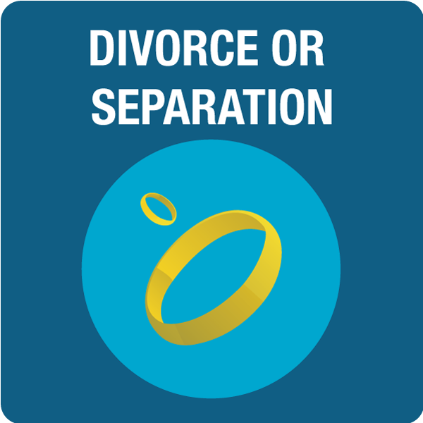 Divorce or Separation