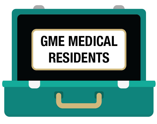 GME Medical Residents - Click here for plan details