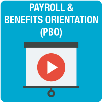 Payroll & Benefits Orientation