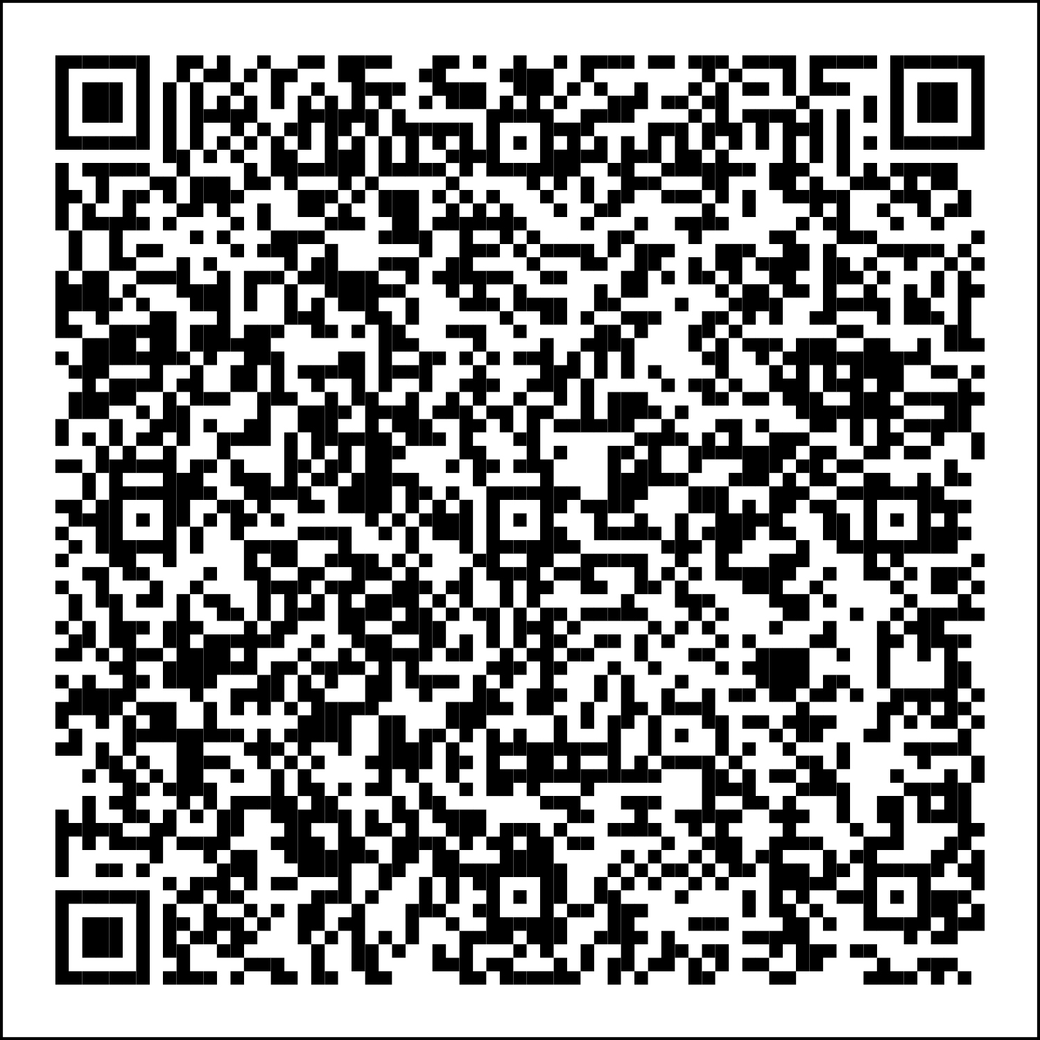 QR code for CU System guests