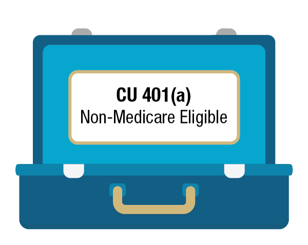 Click here if you are a 401(a) retiree who is not medicare eligible