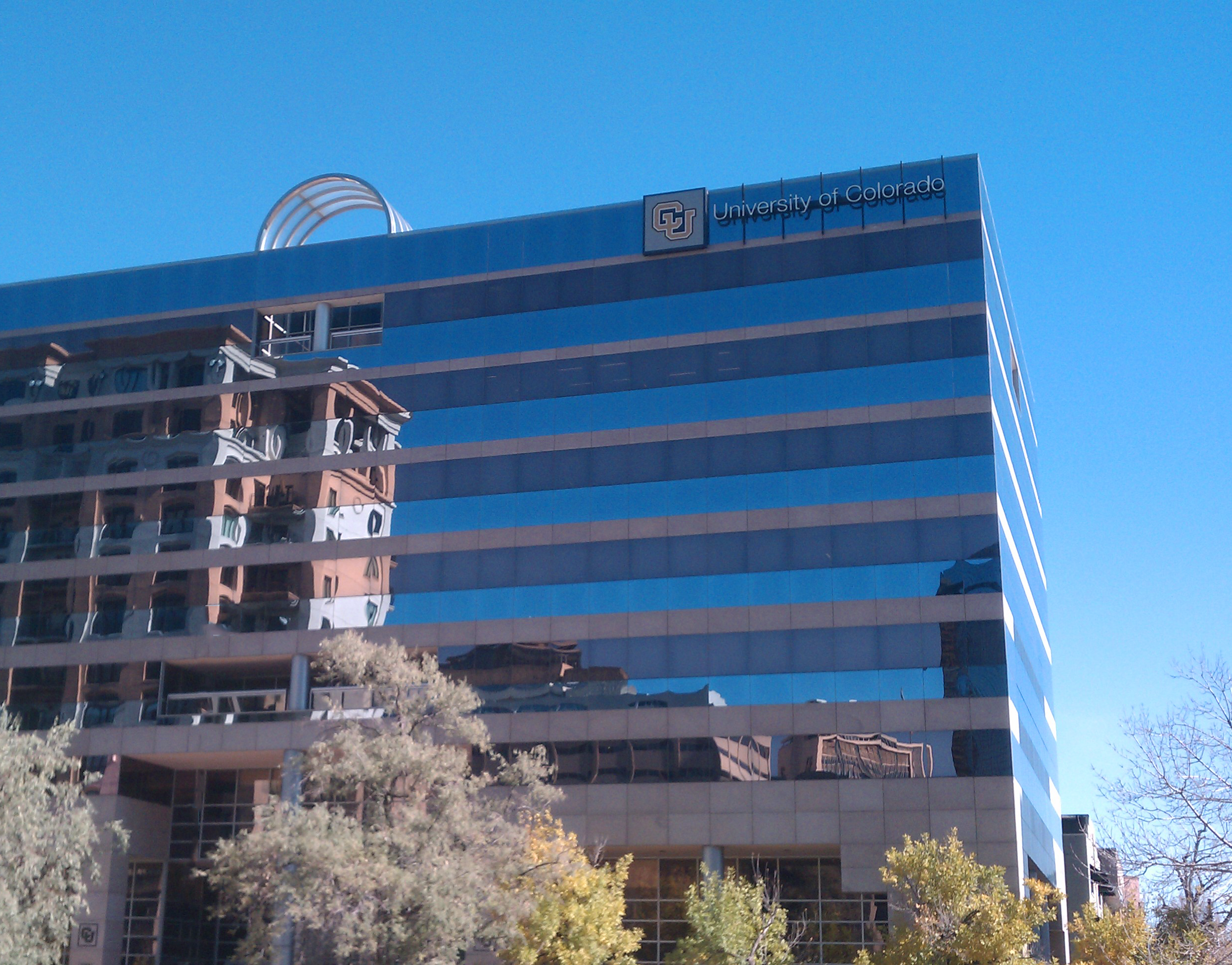 University of Colorado System Headquarters at 1800 Grant in Denver