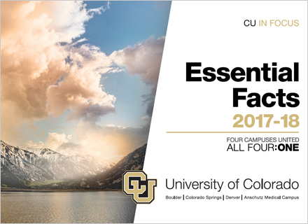 CU in Focus - Essential Facts 2017-18