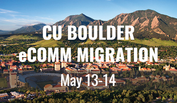 CU Boulder migration | May 13-14