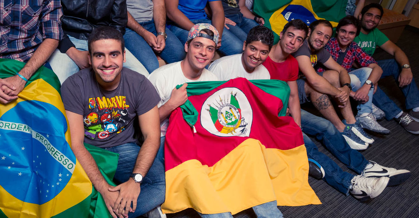 CU Denver students from Brazil