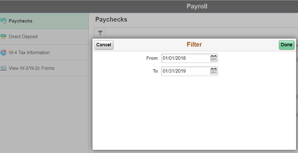 Need to access a past paystub? Find them all in the portal