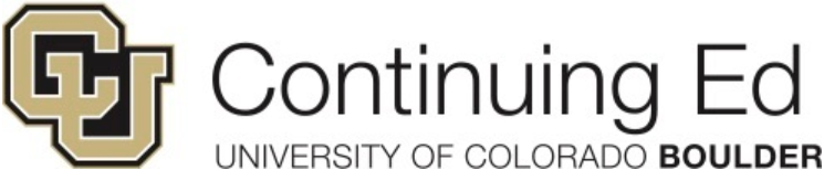 Continuing Ed University of Colorado Boulder Logo
