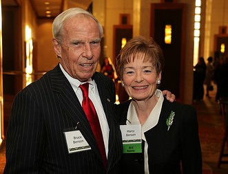 CU President Bruce D. Benson and CU First Lady Marcy Benson