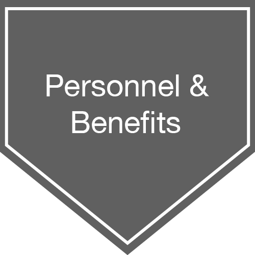 Personnel & Benefits card image