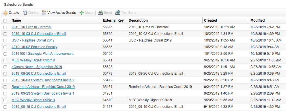 Salesforce Send Email List Example
