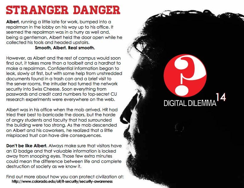 Stranger Danger | University of Colorado