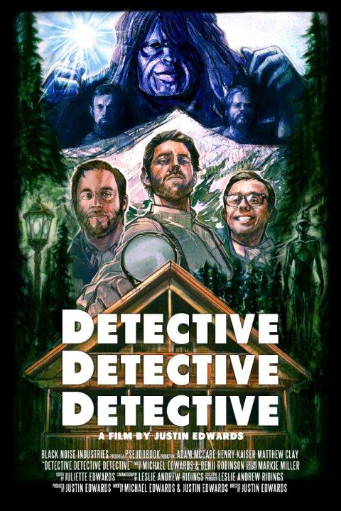 Movie poster for Detective Detective Detective