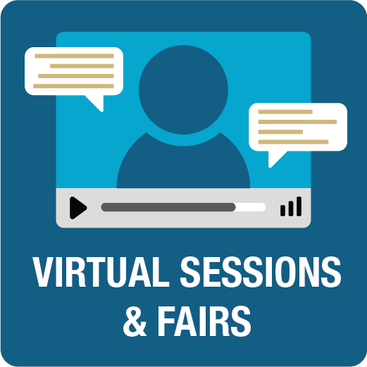 Virtual Sessions and Fairs