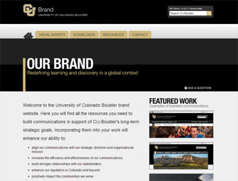 University of Colorado Boulder Brand