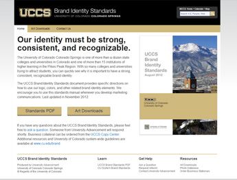 University of Colorado Colorado Springs Brand