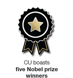 CU Pride Point: CU boasts 5 Nobel prize winners