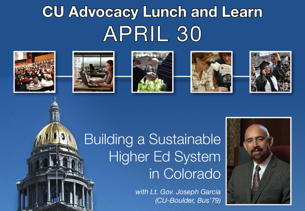 CU Advocate Lunch and Learn with Lt. Gov. Garcia