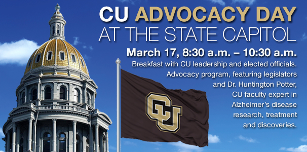 CU Advocacy Day at the Capitol