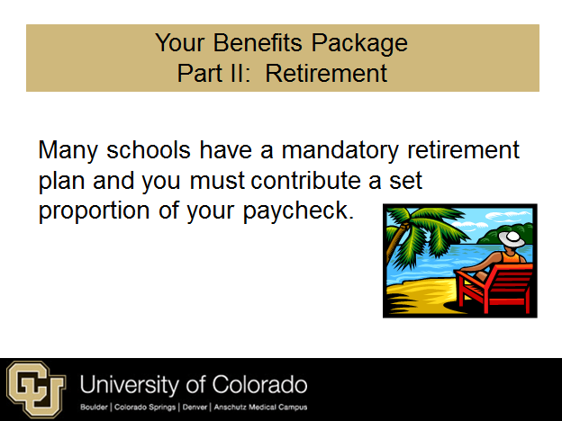 Understanding your retirement benefits