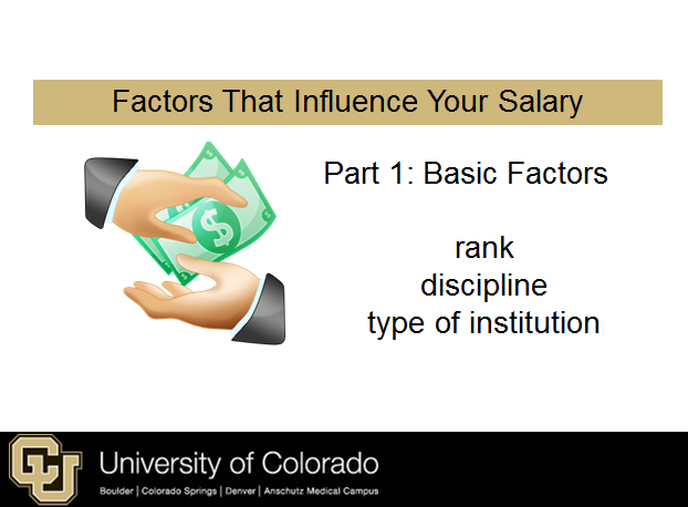 Basic factors to consider about your salary