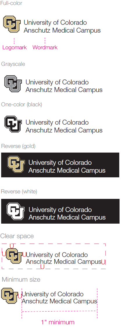 University of Colorado Anschutz Medical Campus signature