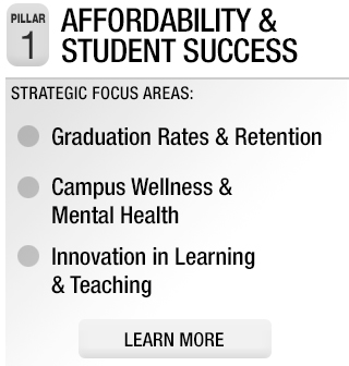 Pillar 1: Affordability and Student Success