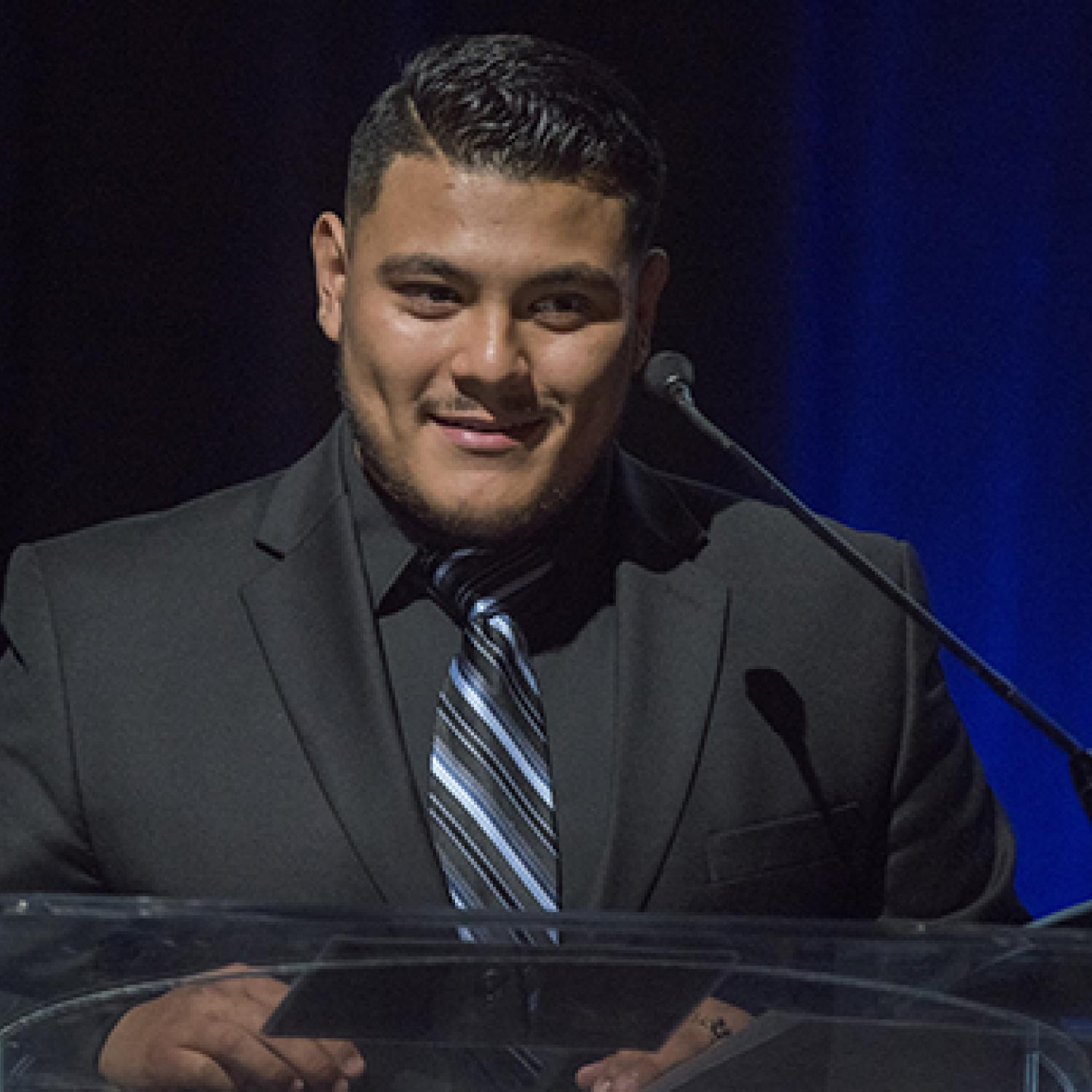 CU Denver junior Daniel Ramirez wows Denver Public Schools Foundation gala with story of how scholarship changed his life