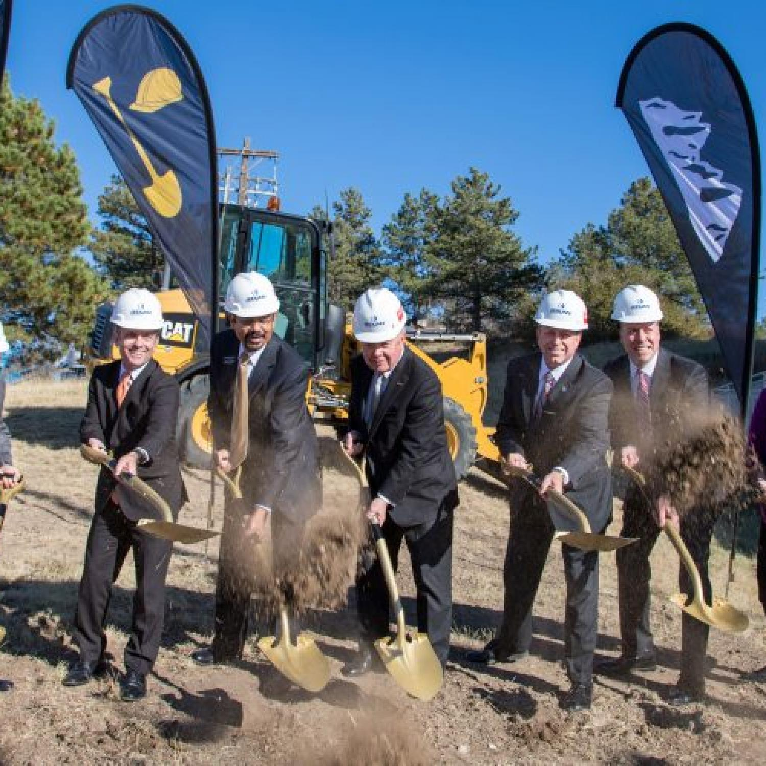 Hybl Center groundbreaking