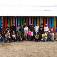 Architecture and planning students spearhead partnership project – from fundraising to (lots of) shoveling