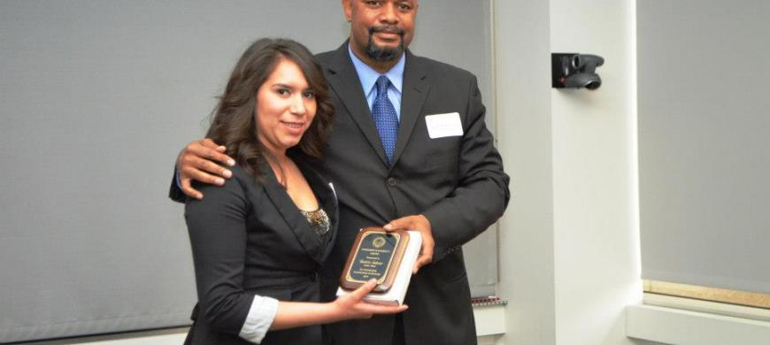 image: President's Diversity Award recognition