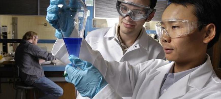 image: lab experiment