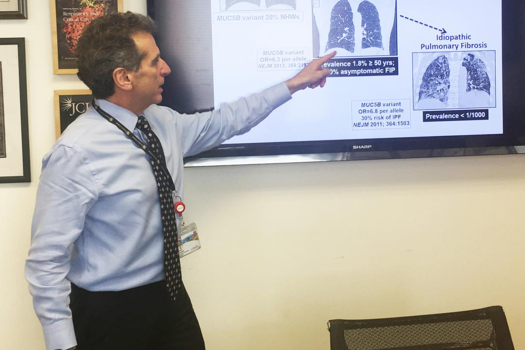 Dr. David Schwartz discusses on IPF