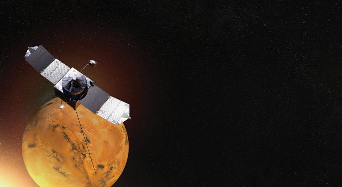 #1 IN NASA RESEARCH FUNDING