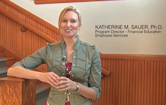 Katie Sauer, director of the financial education program at the University of Colorado